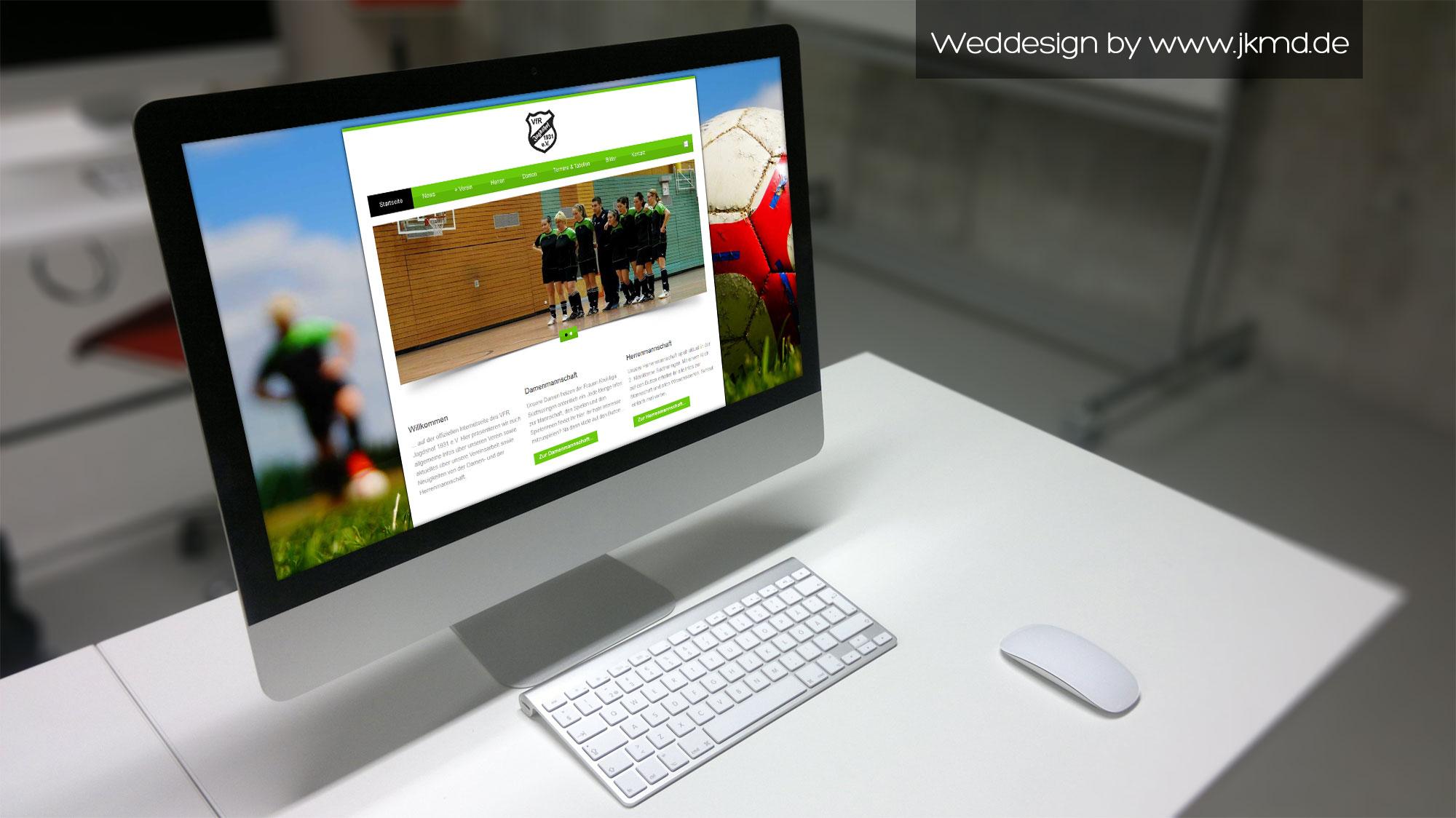 Homepage Webdesign Jens Kaufmann Marketing & Design