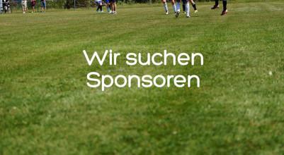 Wir suchen Sponsoren